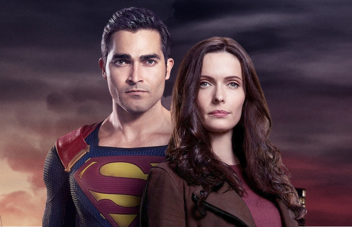 Tyler Hoechlin and Elizabeth Tulloch star in Superman & Lois (The CW).