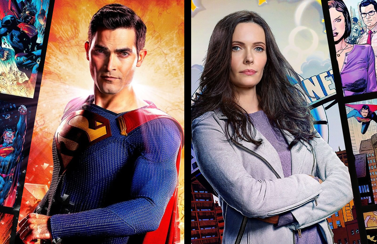 Tyler Hoechlin and Elizabeth Tulloch in Superman & Lois. (The CW)