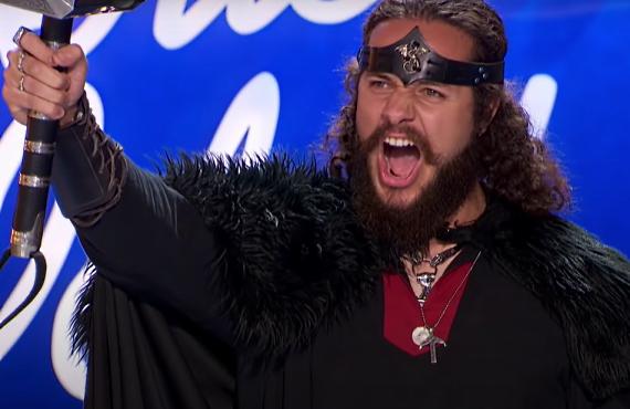 Anthony Guzman on American Idol (ABC)