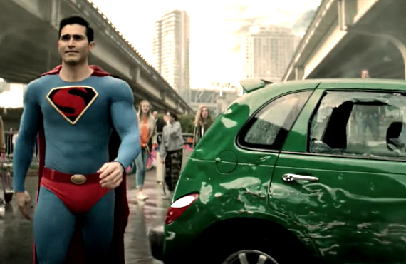 Tyler Hoechlin as Superman in Superman & Lois (CW)