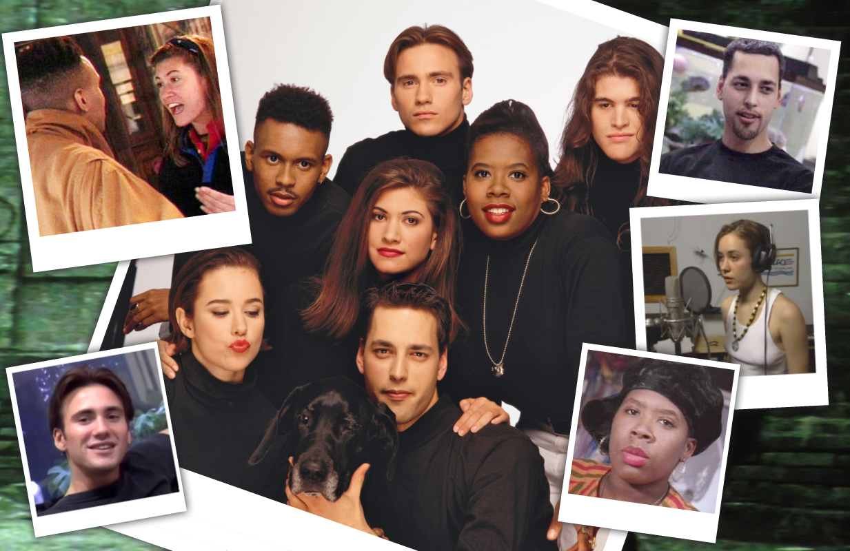 Kevin Powell, Eric Nies, Andre Comeau, Heather B. Gardner, Julie Gentry, Norman Korpi and Becky Blasband made TV history in 1992 when they were cast in the first season of The Real World. (Photos: MTV)