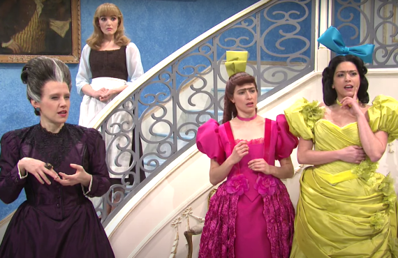 Kate McKinnon, Chloe Fineman, Melissa Villasenor, Cecily Strong on Saturday Night Live (NBC)