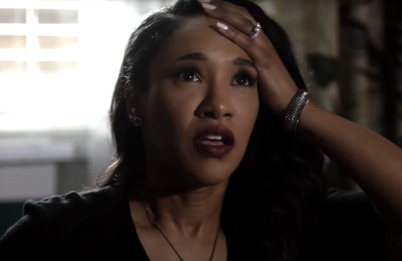 Candice Patton in The Flash (CW)