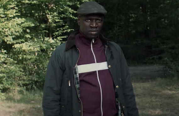 Omar Sy in Lupin (Netflix)