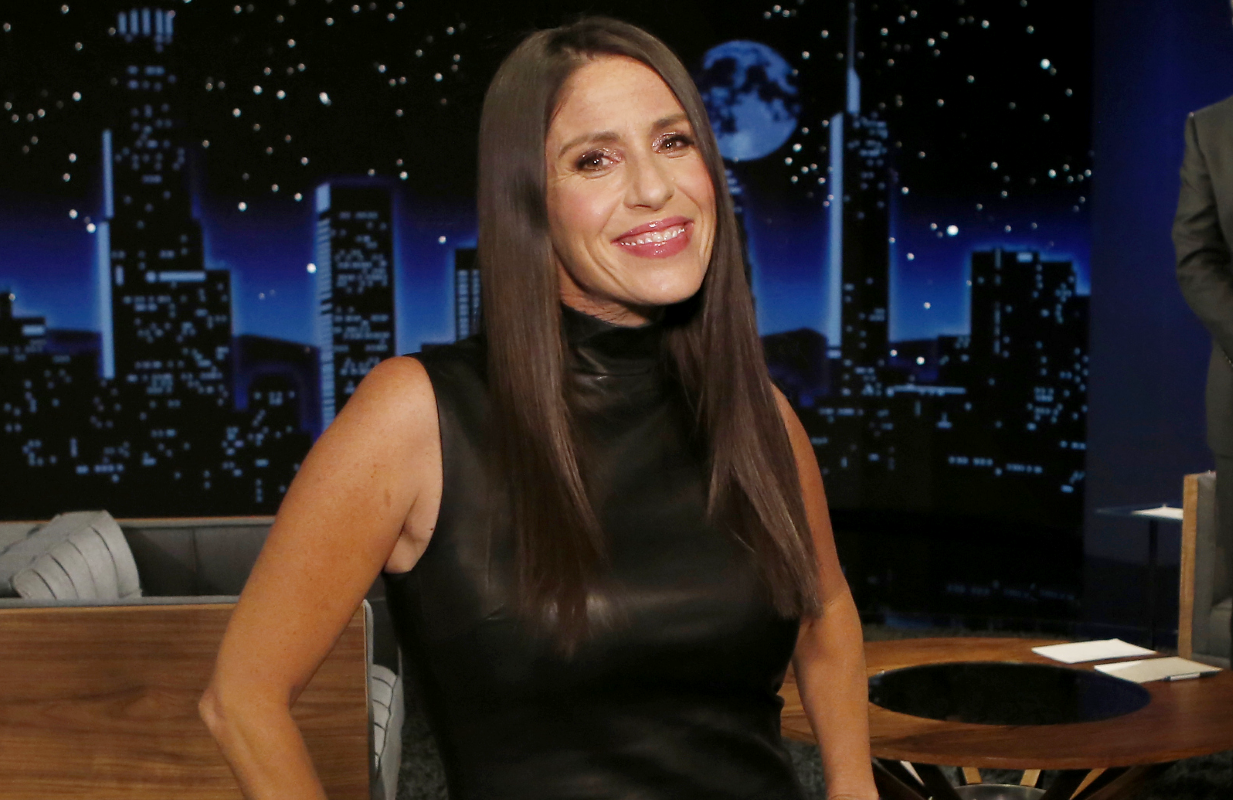 Soleil Moon Frye photographed last month at Jimmy Kimmel Live! (Photo: ABC/Randy Holmes)