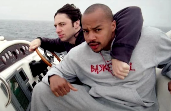 Zach Braff and Donald Faison on The Drew Barrymore Show