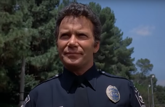 William Shatner is T.J. Hooker