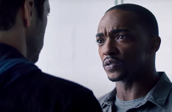 Anthony Mackie in The Falcon and the Winter Soldier (Disney+)