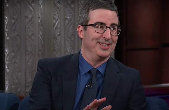 John Oliver on The Late Show with Stephen Colbert (CBS)