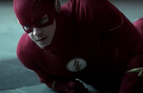 Grant Gustin in The Flash (CW)