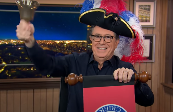 The Late Show with Stephen Colbert> (CBS)