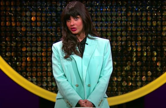 Jameela Jamil on The Misery Index (TBS)