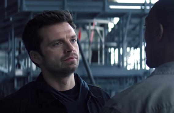 Sebastian Stan in The Falcon and the Winter Soldier (Disney+)