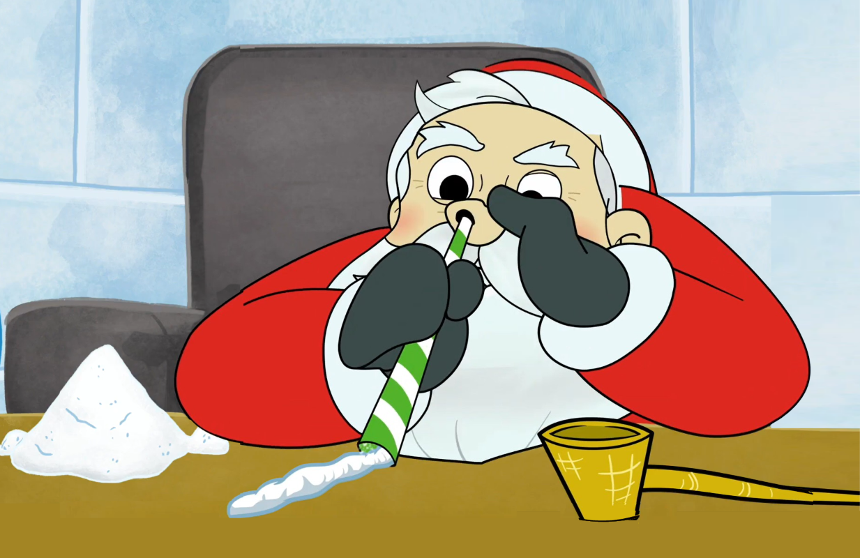 Santa goes off the deep end in Syfy's The Pole.
