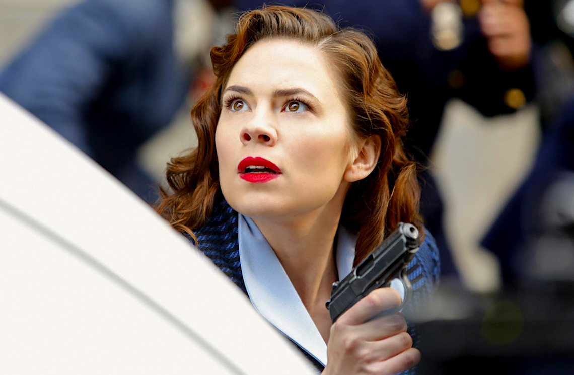 Hayley Atwell in Agent Carter. (ABC)