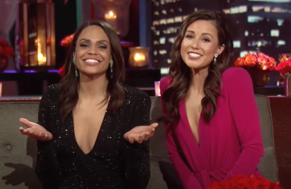 Michelle Young and Katie Thurston on The Bachelor (ABC)