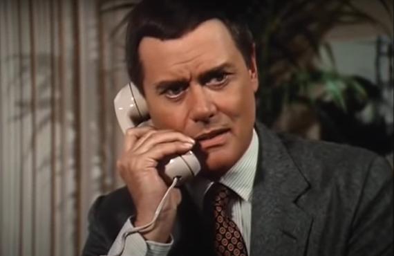 Larry Hagman as J.R. Ewing on Dallas> (CBS)