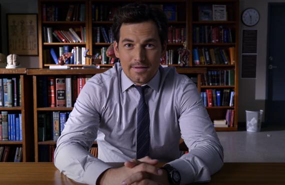 Giacomo Giannioti on Grey's Anatomy (ABC)