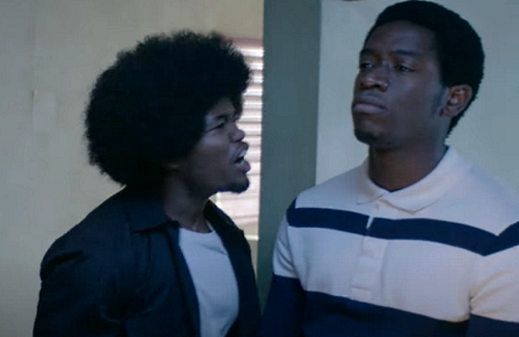 Isaiah John and Damson Idris in Snowfall (FX)