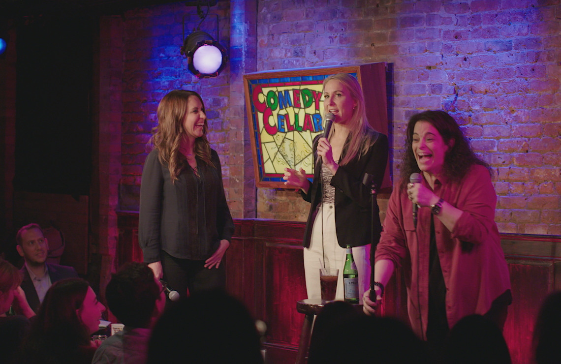 Rachel Feinstein, Nikki Glaser and Jessica Kirson in Hysterical. (Photo: FX)
