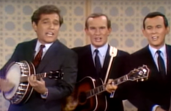 George Segal on The Smothers Brothers Comedy Hour (CBS)