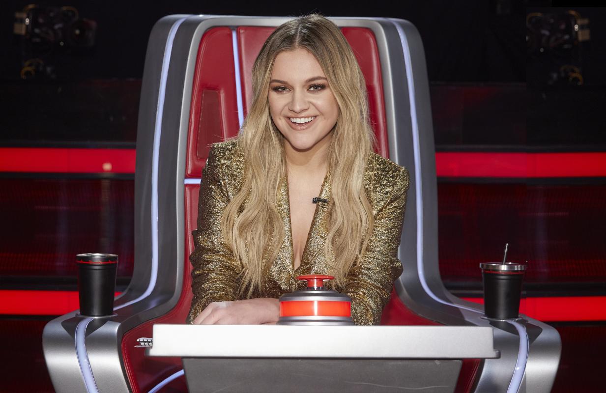 Kelsea Ballerini fills in for Kelly Clarkson tonight on The Voice, (Photo: Trae Patton/NBC)