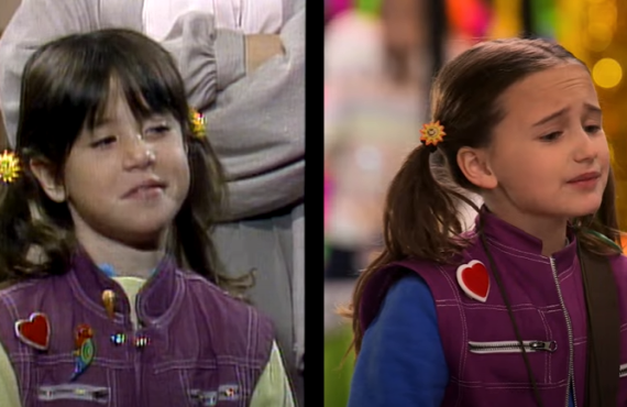 Soleil Moon Frye vs. Quinn Copeland on Punky Brewster (Peacock)