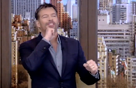 Harry Connick Jr. on Live with Kelly and Ryan (ABC)