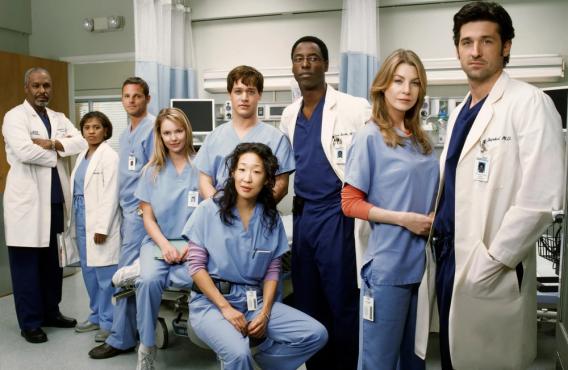 Season 1 Cast of Grey's Anatomy (ABC)