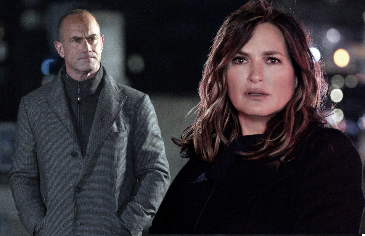 Elliot Stabler (Christopher Meloni) makes things right with  Olivia Benson (Mariska Hargitay) in tonight's Law & Order: Special Victims Unit. (Photos: Virginia Sherwood and Christopher Del Sordo/NBC)