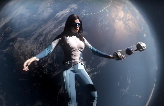 Nicole Maines in Supergirl (CW)