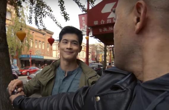 Eddie Liu in Kung Fu (CW)
