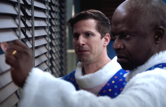 Andy Samberg and Andre Braugher in Brooklyn Nine-Nine (NBC)