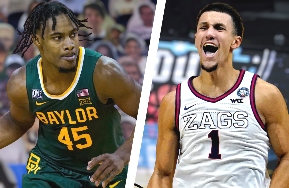 Davion Mitchell and the Baylor Bears take on Jalen Suggs and the Gonzaga Bulldogs tonight at the NCAA Men's Finals on CBS.