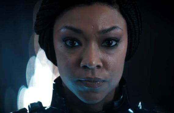Sonequa Martin-Green in Star Trek: Discovery (Paramount+)