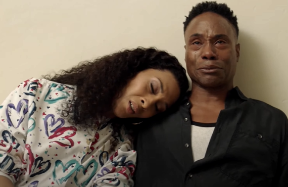 MJ Rodriguez and Billy Porter in Pose (FX)