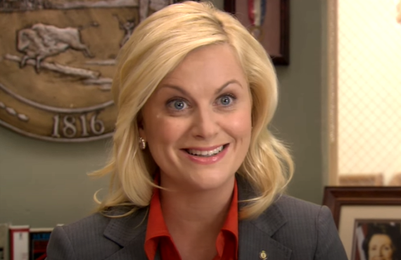 Amy Poehler on Parks and Recreation (NBC)