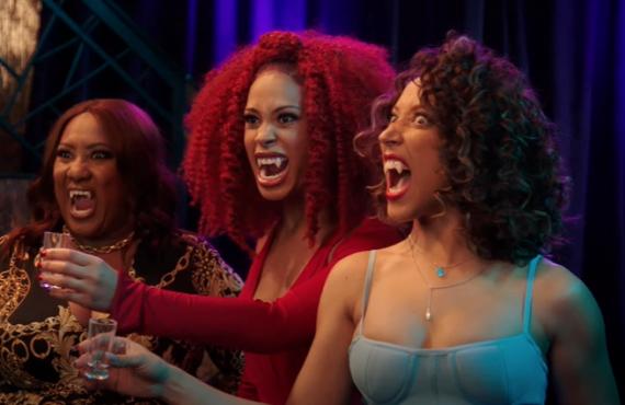 Ashley Nicole Black, Gabrielle Dennis, Robin Thede in A Black Lady Sketch Show (HBO)