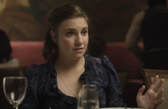 Lena Dunham in Girls (HBO)