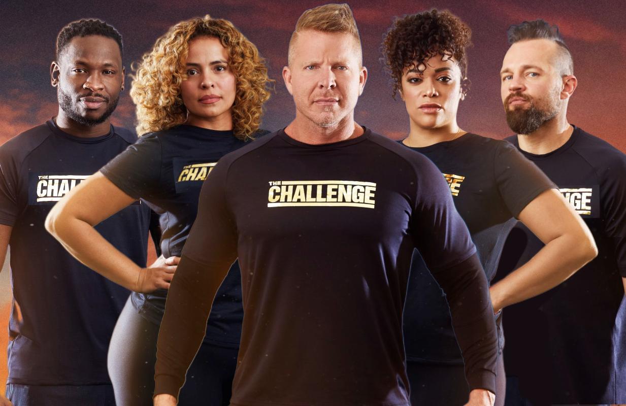 Nehemiah Clark, Jisela Delgado, Mark Long, Aneesa Ferreira, Derrick Kosinski in The Challenge: All Stars. (Photos: Paramount+)