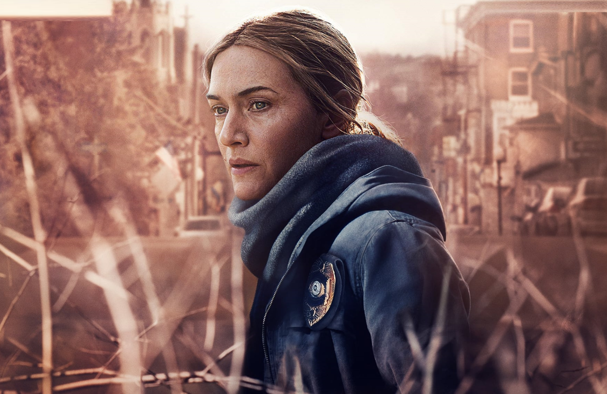 Kate Winslet stars Mare of Easttown, premiering Sunday night on HBO.