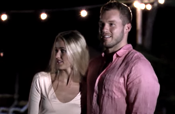 Heather Martin and Colton Underwood on The Bachelor (ABC)