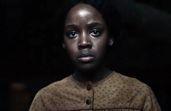 Thuso Mbedu in The Underground Railroad (Amazon)