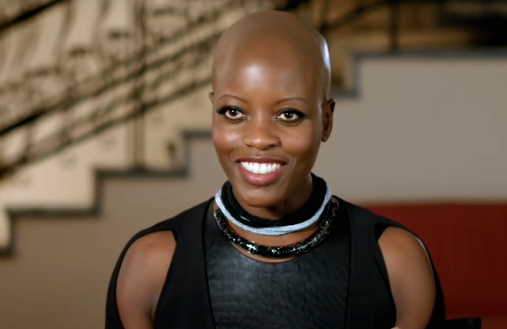 Florence Kasumba of The Falcon and The Winter Soldier (Disney+)