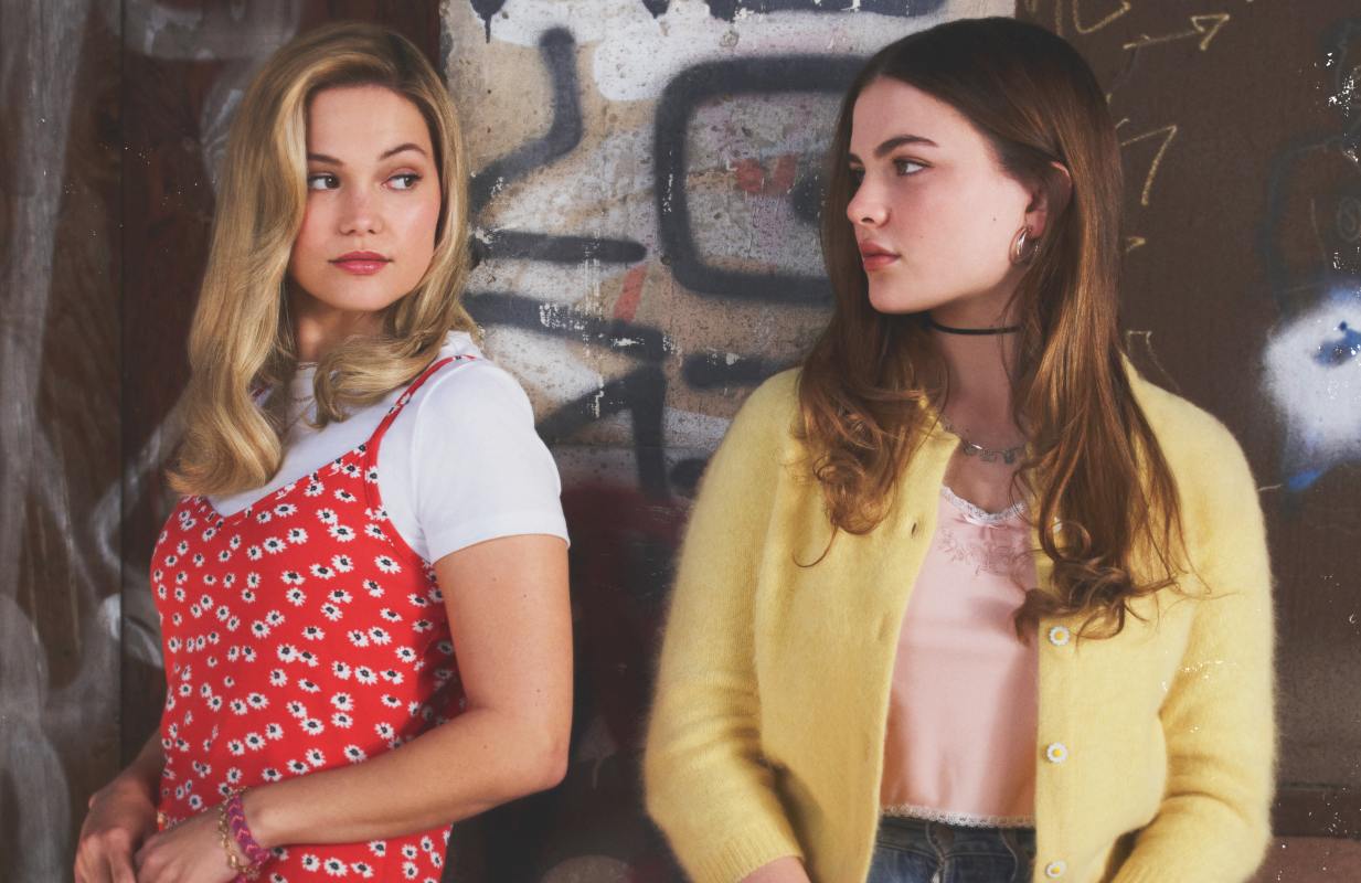 Olivia Holt and Chiara Aurelia in Cruel Summer. (Freeform)