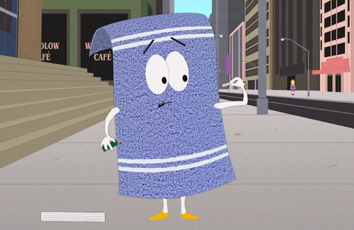 Towelie in South Park