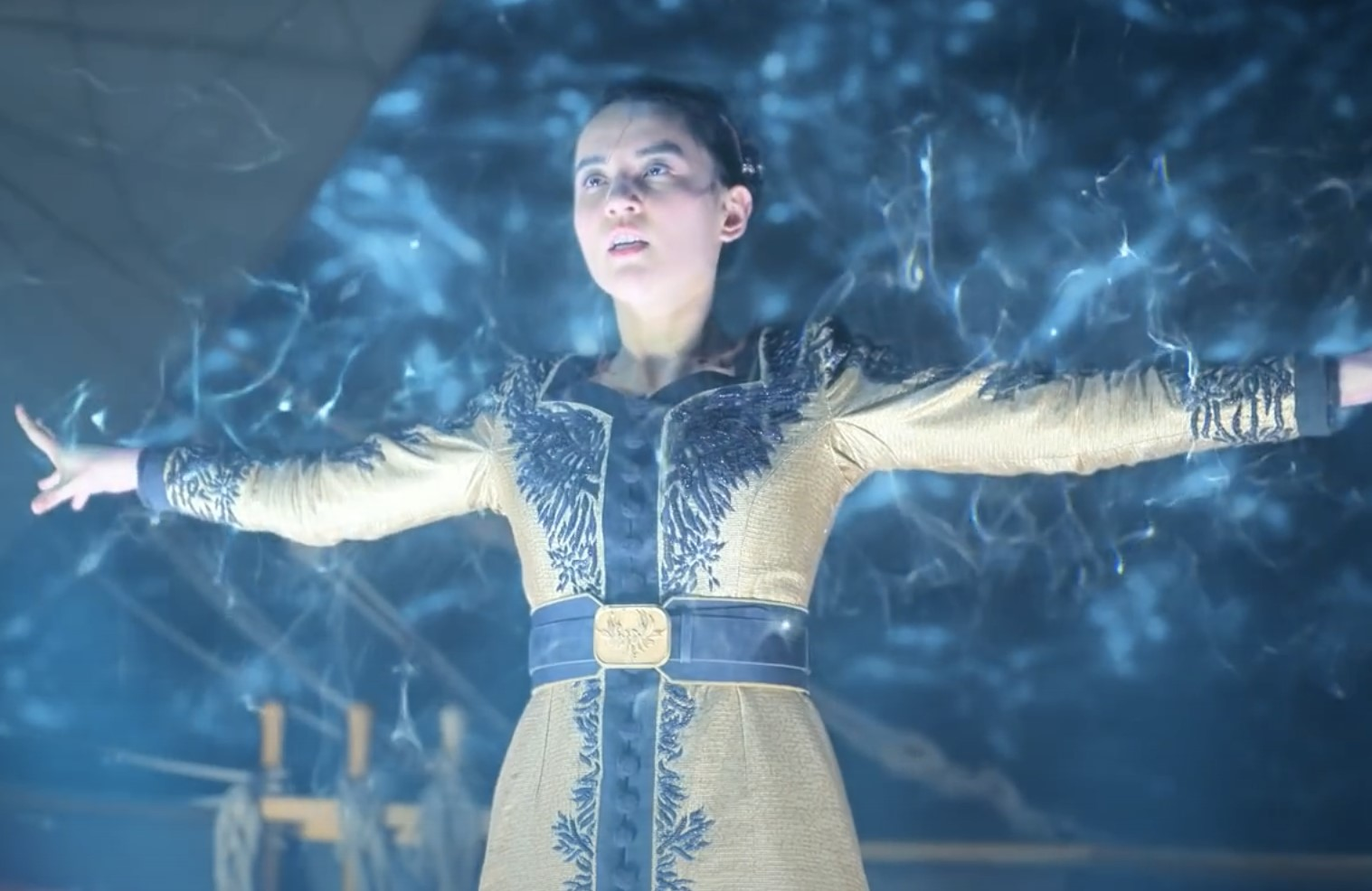 Jessie Mei Li stars as Alina Starkov in Shadow and Bone. (Photo: Netflix)