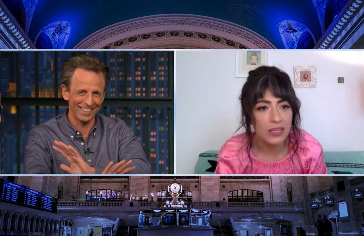 Melissa Villaseñor  on Late Night with Seth Meyers