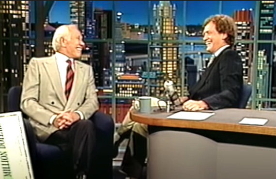 Johnny Carson on Late Night with David Letterman (NBC)