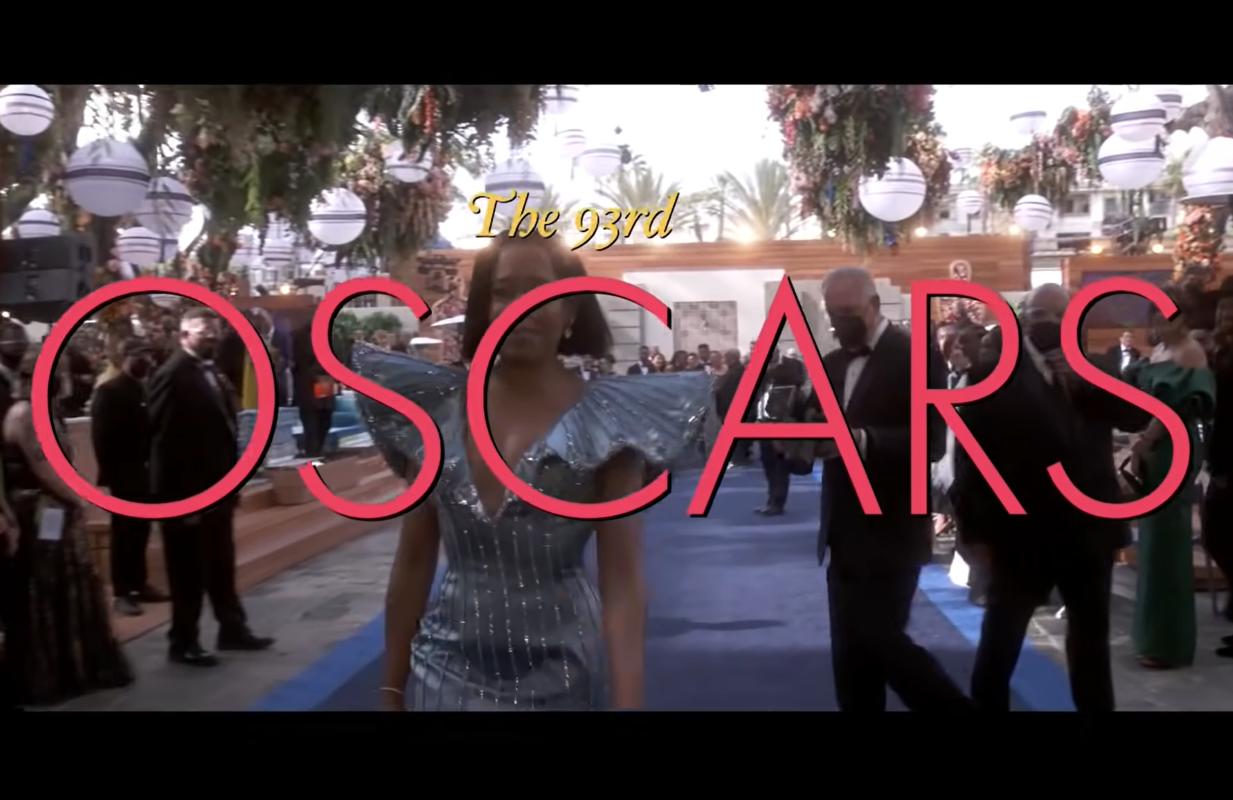 Regina King at the 93rd Oscars. (ABC)